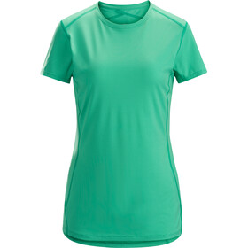 Arc'teryx Phase SL - Camiseta manga corta Mujer - Azul petróleo